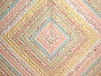 King Willow Green and Pastels Color Splash Quilt