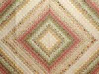 Wheat and Soft Pastels Color Splash Quilt