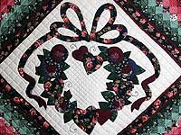 Country Love in the Commons Applique Quilt