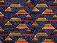 Amish Antique Colors Shadows Quilt