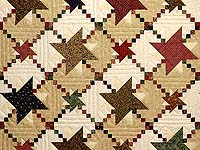 Country Colors Prairie Stars Quilt
