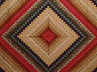 King Gold Brick and Moss Color Splash Quilt