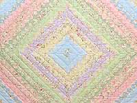 King Yellow and Pastels Color Splash Quilt