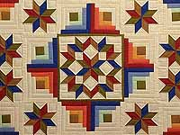 Southwest Colors Carpenter Patch Quilt