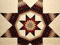 Country Colors Royal Star of Maryland Quilt