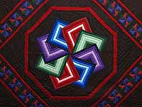 Amish Star Spin Quilt