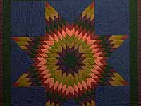 Almost Amish Lone Star Quilt