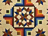 Southwest Colors Carpenter's  Patch Quilt