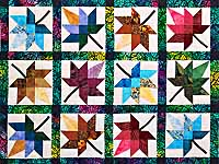King Bright  Autumn Splendor Quilt