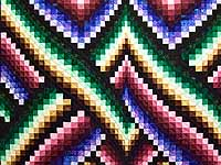 Almost Amish Bargello Links Quilt