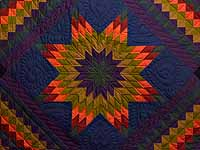 Amish Lone Star Trip Quilt