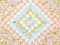 King Pastel Mosaic Quilt
