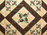 King Golden Tan Brown and Multi  Elizabeth Quilt