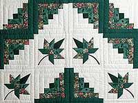 Green Cabin Splendor Quilt