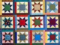 King Multicolor Oh My Stars Quilt