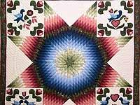Pennsylvania Dutch Star Quilt