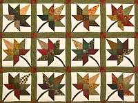 Earth Tones Autumn Splendor Quilt