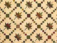 Earthtones Autumn Wind Quilt