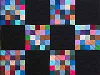 Almost Amish Alternating Blocks Quilt