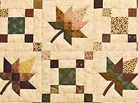King Earthtones Autumn Wind Quilt