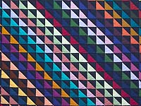 Amish Triangles Quilt