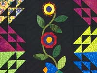 King Flower Power Quilt