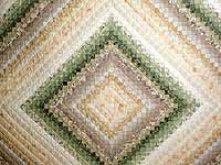 Sage and Tan Color Splash Quilt