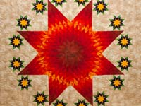 King Stars over Texas Quilt