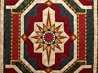 Multicolor Medallion Star Quilt