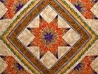 King April Sunrise Quilt