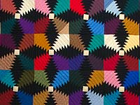 Amish Pineapple Quilt