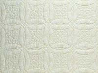 King All Neutrals Double Wedding Ring Quilt