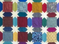 King Bright Multicolor Starry Sky Quilt