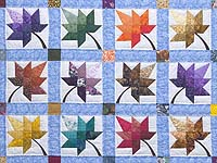Bright  Autumn Splendor Quilt