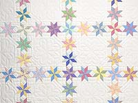 Pastel Starry Path Quilt