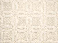 All-Neutrals Double Wedding Ring Quilt