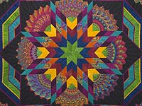 King Bright Bertha Quilt