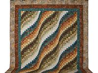 Bargello Wave Quilt