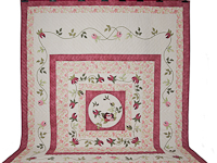 I Promised You a Rose Garden Quilt