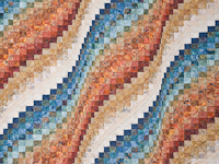Bargello Wave Quilt King Size