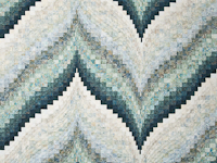 Bargello Flame Quilt King Size