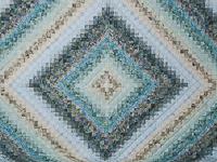 Queen Colorsplash Quilt Azure to Steel Blue