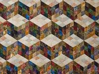 Tumbling Blocks Nine Patch-Queen