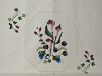 Calla Garden Newest in C Jean Horst's applique designs