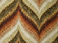 Bargello Flame - Queen/Double size