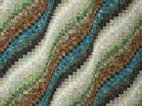 Bargello Wave - King size