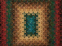 Blooming Nine Patch KING SIZE 
