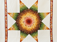 Autumn Lone Star Quilt