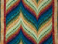 Bargello Flame - Brilliant! King Bed Size
