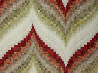 Bargello Flame -  Just beautiful !  King bed size